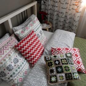 Świąteczna sypialnia i nie tylko ona &#x3B;)