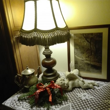 A w domu cieplutko i świątecznie  :)