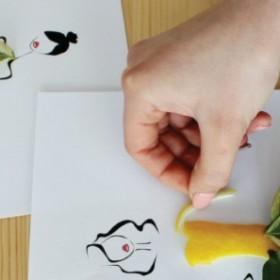 Pani Wiosna - kreatywna zabawa dla dzieci