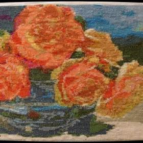 Róże już jesienne