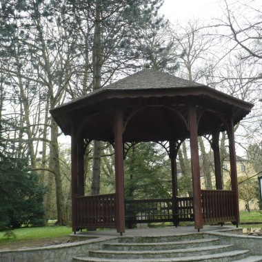 .............altana w Parku Oliwskim....................