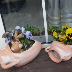 wiosna na balkonie