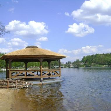 Swornegacie wioska turystyczna /Jezioro karsińskie, Jezioro Długie/