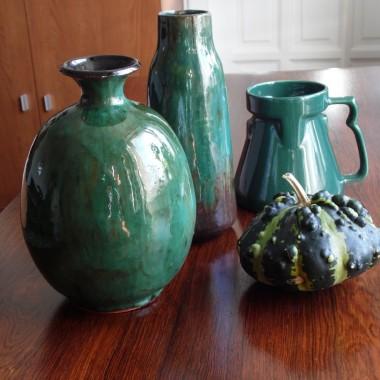 Takie kolory siedzą w mojej głowie- butelkowa zieleń, wrzosy, śliwki i te sprawy :) W końcu jesień :) Ta złota, ciepła- niechaj trwa..