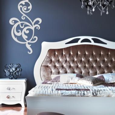 Dekoracje welurowe w sypialni