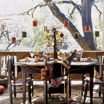 kilka pomyslow na dekoracje stolu...