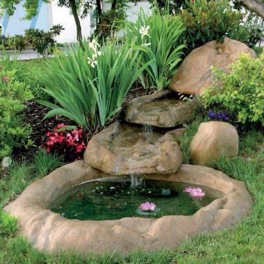 Oczka wodne - imitacja skały