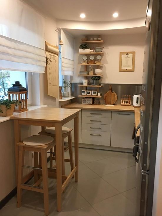 Kuchnia, Tania metamorfoza aneksu kuchennego