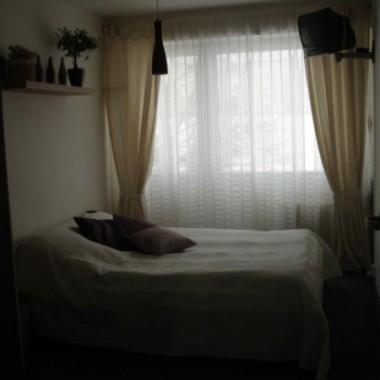 sypialnia i przedpokój po remoncie