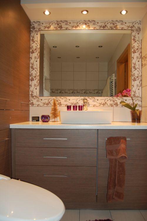 Łazienka, łazienka - zabudowana pralka,