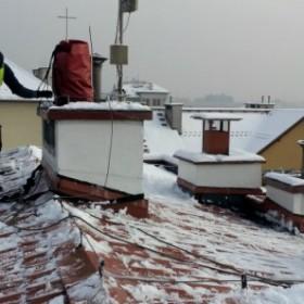 Co zrobić, gdy zarządca nie odśnieżna dachu budynku w którym mieszkasz