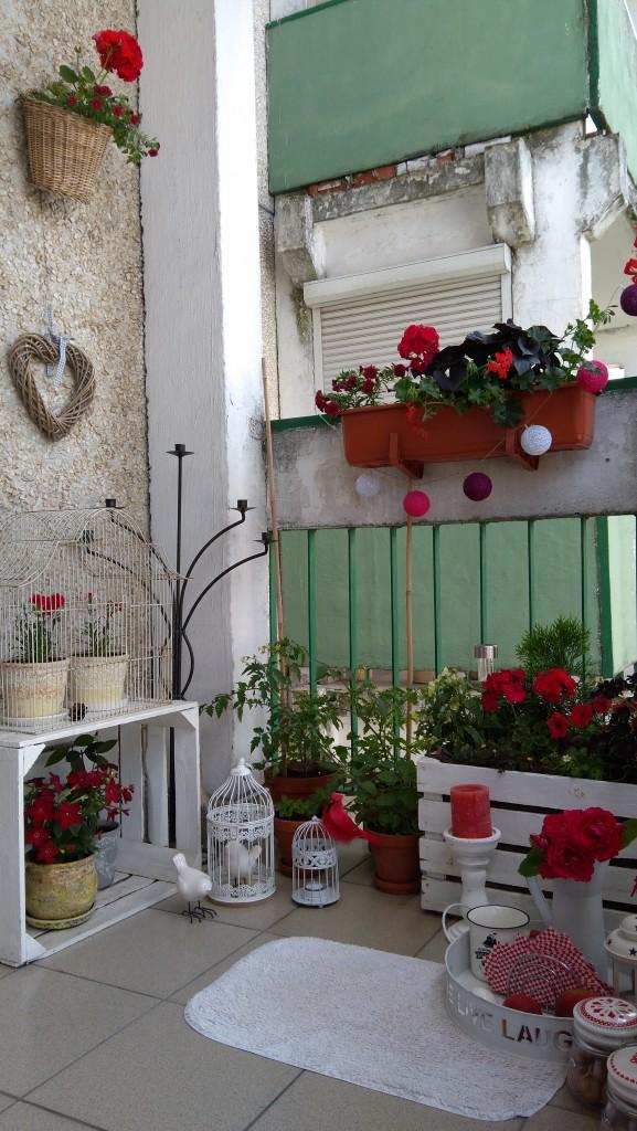 Balkon, wspomnienie lata...