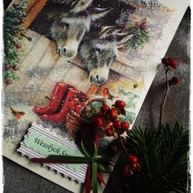Mała manufaktura kartek świątecznych &#x3B;