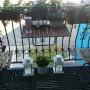 Pozostałe, mini balkon - zestaw ikea,