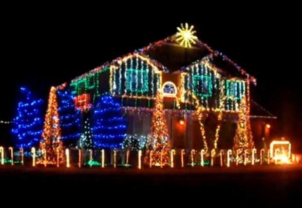 Zdjęcie 1723 W Aranżacji świąteczne Oświetlenie Domu