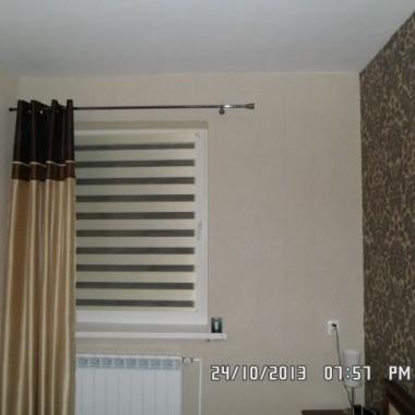 Sypialnia po zmianie wystoju okna:)