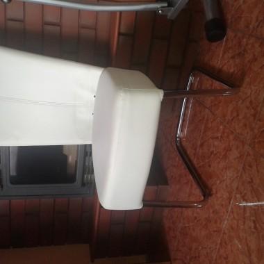 W co obić krzesła ?Materiał czy eko skore?