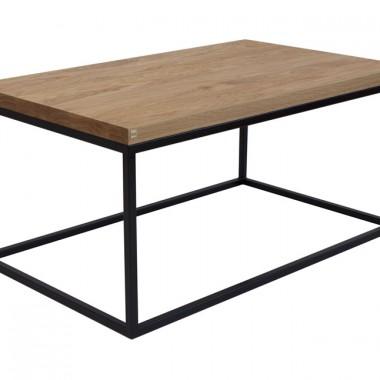 industrialny, loftowy stolik kawowy MALMO
