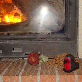 Jesień przy kominku