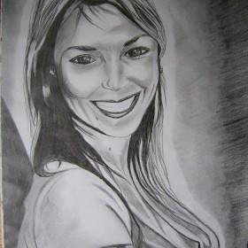portret koleżanki