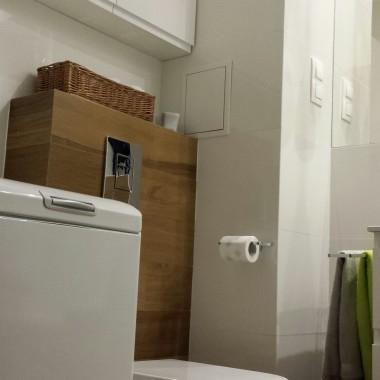 łazienka już w pełni urządzona
