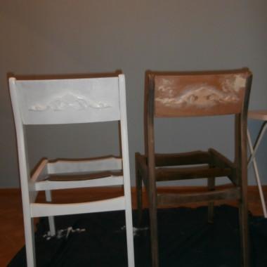 Stare krzesła w nowym wcieleniu :) oraz inne metamorfozy :)