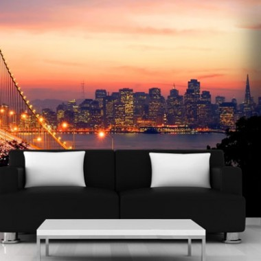 San Francisco w Twoim salonie - Fototapeta.http://demur.pl/inspiracje/san_francisco_w_twoim_salonie