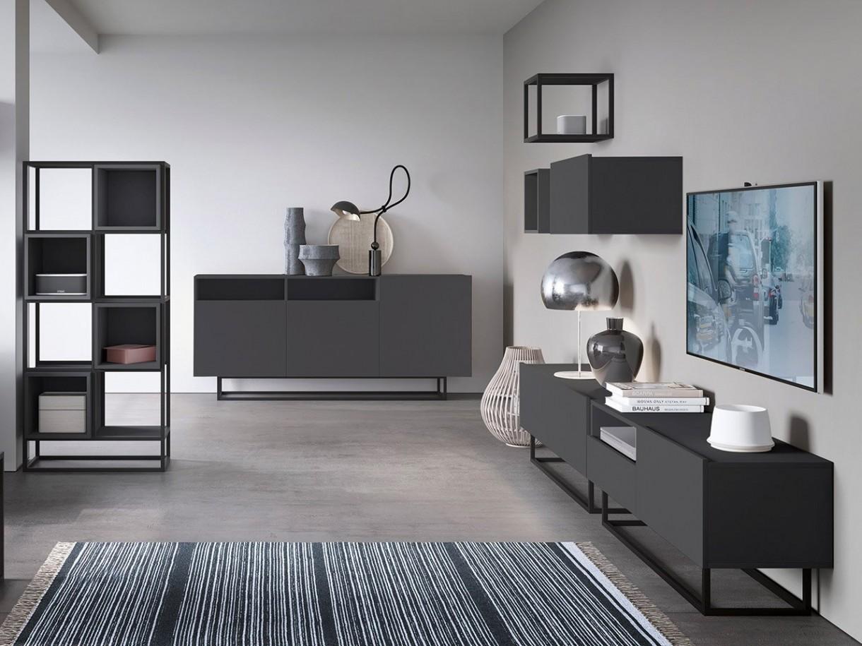 Salon, Loftowe meble do salonu - Najważniejszą zasadą urządzania modnych i stylowych wnętrz jest dbałość o to, aby to właśnie one wyrażały siebie, swoją osobowość oraz gusta. Styl loftowy charakteryzuje się surowością, prostotą i elegancją w jednym. Odpowiednia kolorystyka, designerskie meble to coś co zachwyci miłośników takich rozwiązań.
