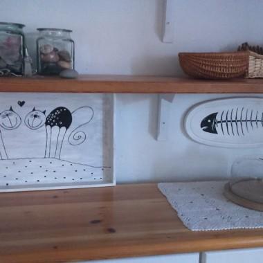 biel i czerń w moim domu