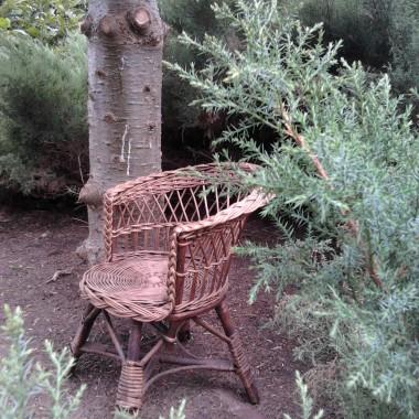 Krzesełko przed malowaniem..
