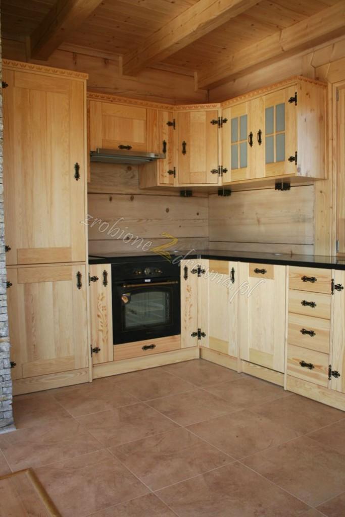 Zdjęcie 512 W Aranżacji Meble Kuchenne Kuchnie Drewniane