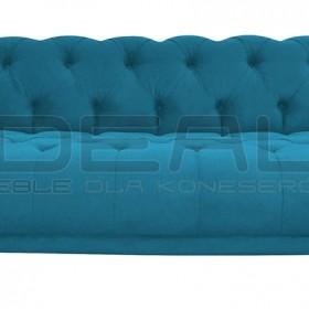 Pikowana sofa chesterfield