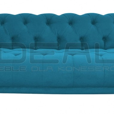 Pikowana sofa chesterfield