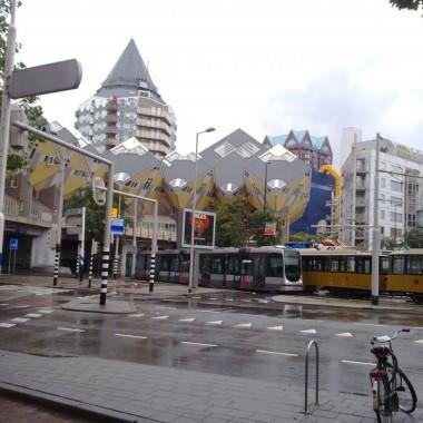 Domki Kubus w Rotterdam'ie