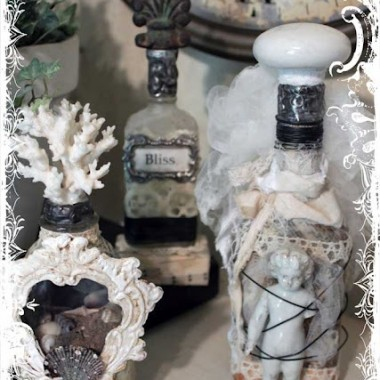 Stare sloiki, butelki i swiezy pomysl.  Wyszukalam w internecie te najciekawsze :)