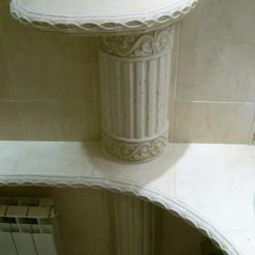 Łazienka w stylu antycznym.