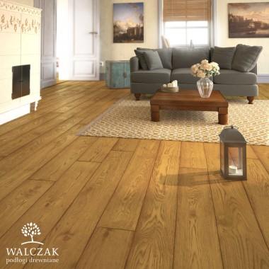 Wnętrza z deskami olejowanymi firmy WALCZAK
