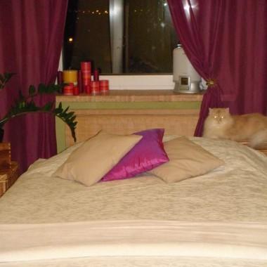 mini sypialnia