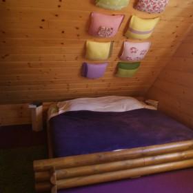 W kolorowej sypialni