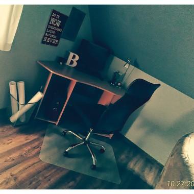Parę zmian w salonie, pokój synka i komputerowy kącik:)