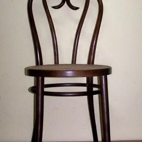 krzesła typu thonet gięte drewno bukowe i rattan