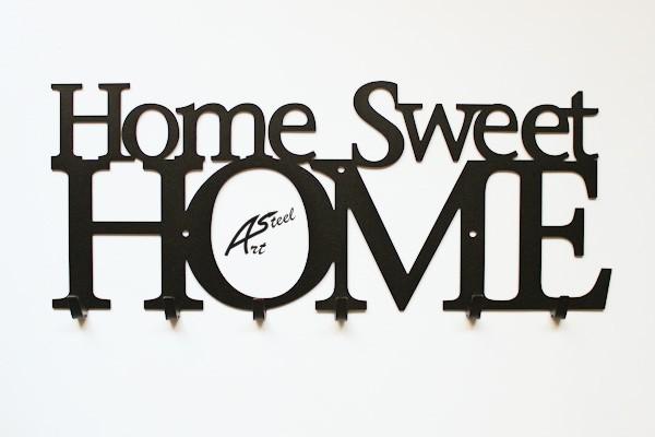 """Pozostałe, Designerskie wieszaki - Wieszak na ubrania """"Home Sweet Home"""""""
