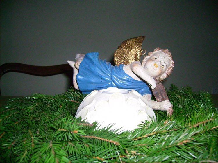 Jadalnia, ozdoby świąteczne