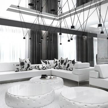 White Rabbit - projekt wnętrza domu
