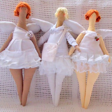 angels -  shabby chic