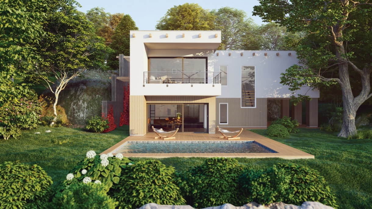 Okna i drzwi, Drzwi przesuwne VEKA - Duże przeszklenia są modne we współczesnej architekturze