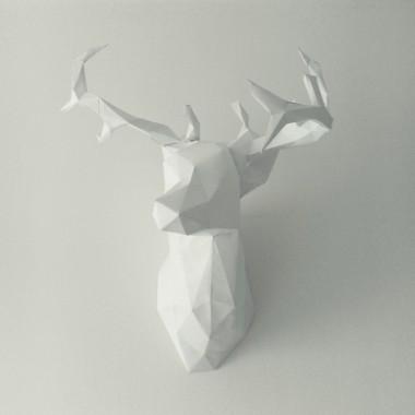 DIY Papierowy jeleń