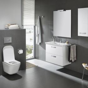 Funkcjonalny design. Podwieszana miska WC GAP Clean Rim