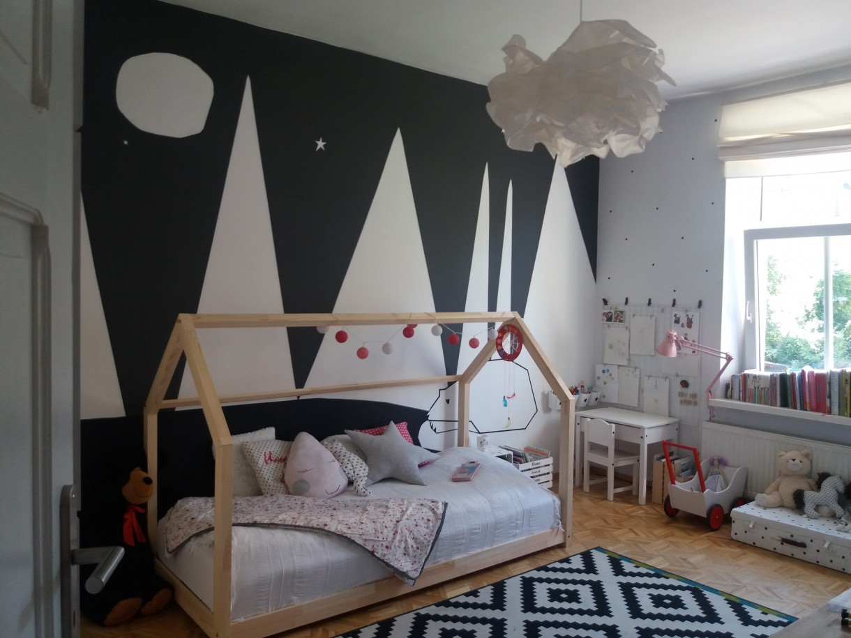 Pokój dziecięcy, Metamorfozy u córeczki