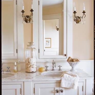 Łazienki w klasycznym stylu:)